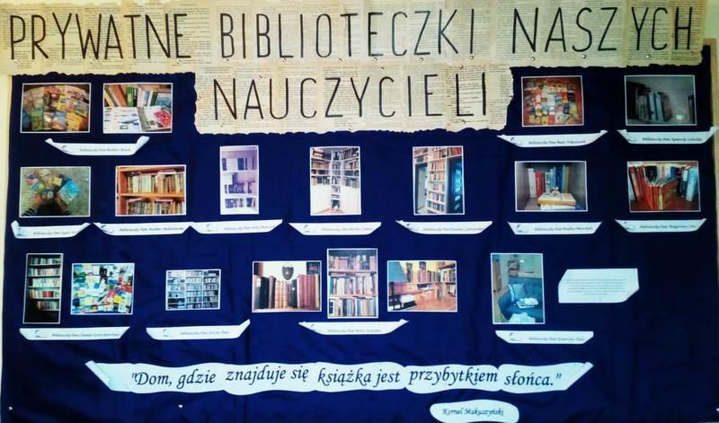 PRYWATNE BIBLIOTECZKI NAUCZYCIELI