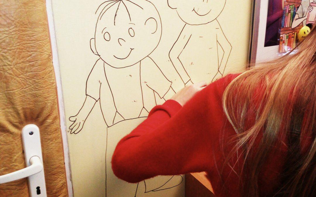 Impresje twórcze Eleny Mazur wbibliotece szkolnej