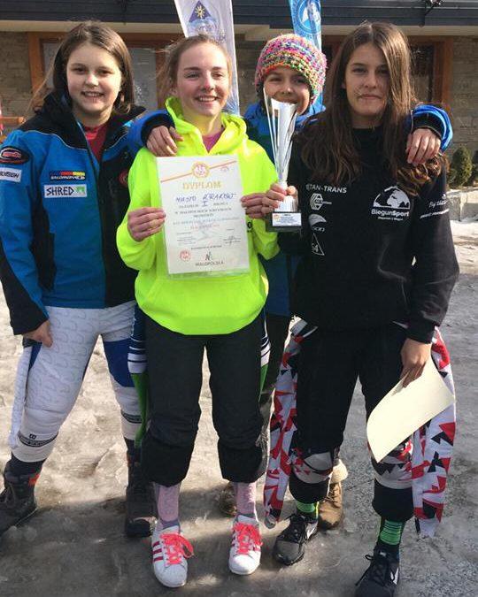 Sukcesy uczniów wzawodach narciarskich