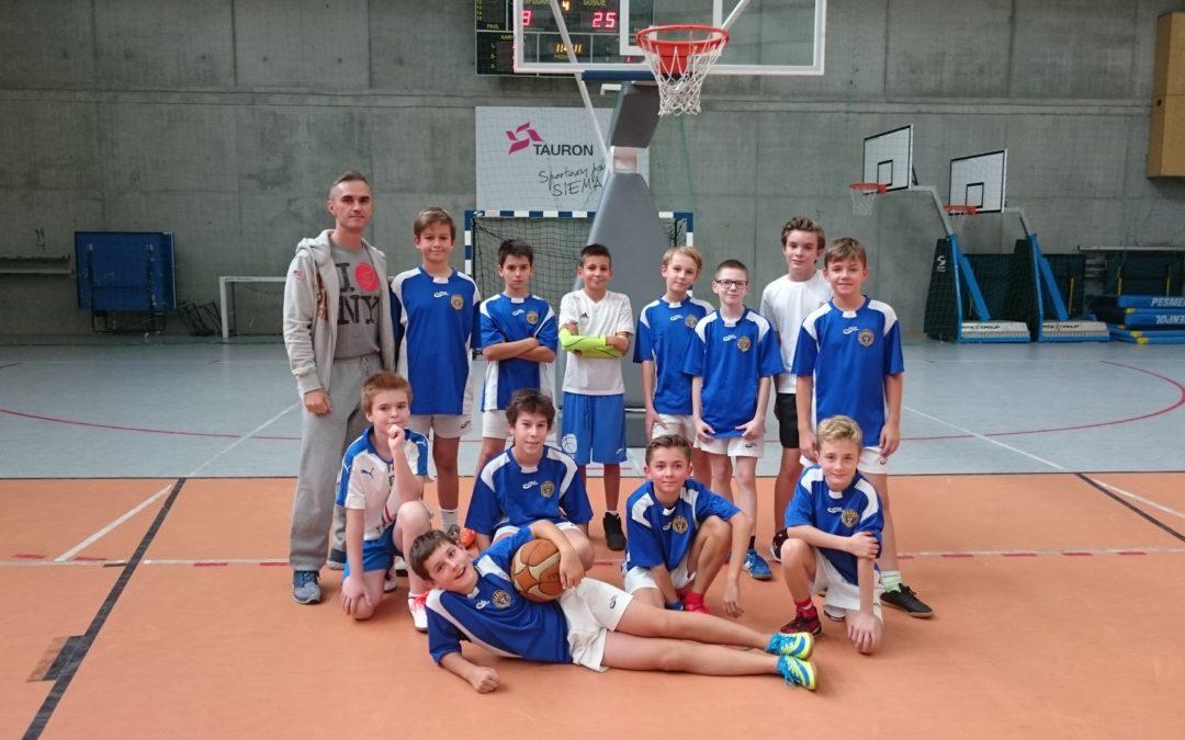 Czwartkowy turniej mini-koszykówki