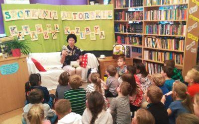 Spotkania autorskie zKatarzyną Kozubską wbibliotece szkolnej