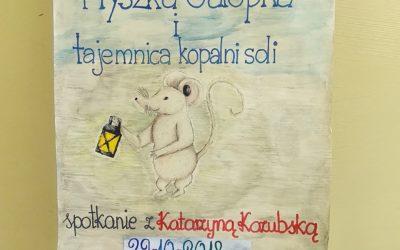 """Zcyklu """"Poranki zksiążką"""" – spotkanie autorskie zKatarzyną Kozubską"""