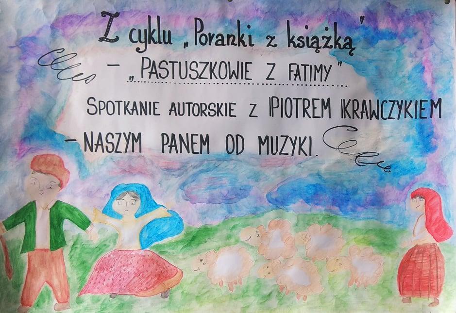"""Zcyklu """"Poranki zksiążką"""" – spotkania autorskie zPiotrem Krawczykiem"""
