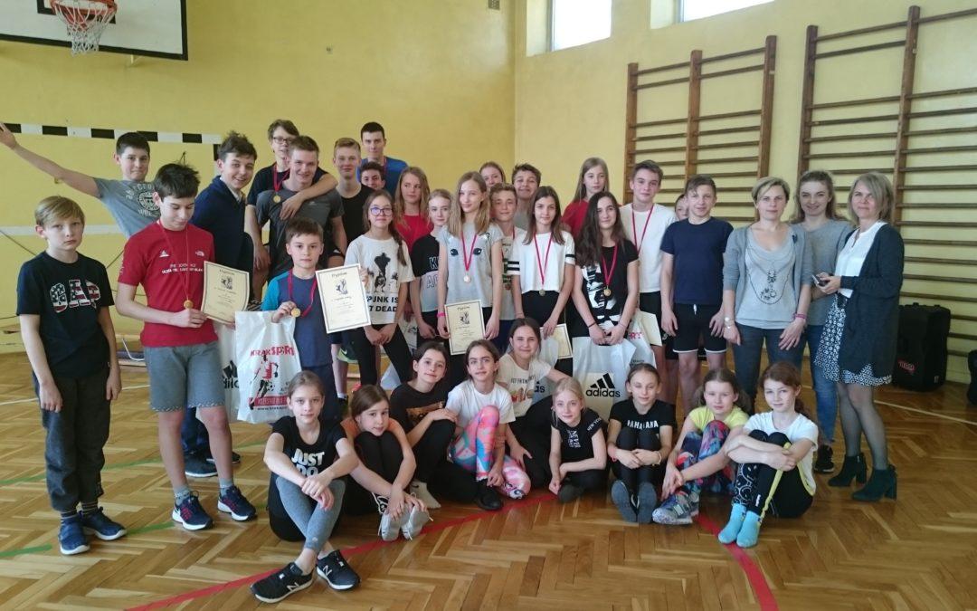 XVI Szkolne Zawody Gimnastyczne