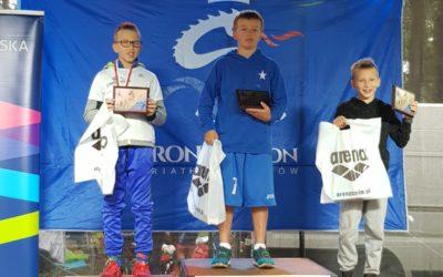 II miejsce wzawodach Iron Dragon Triathlon Kids – Daniel Mróz