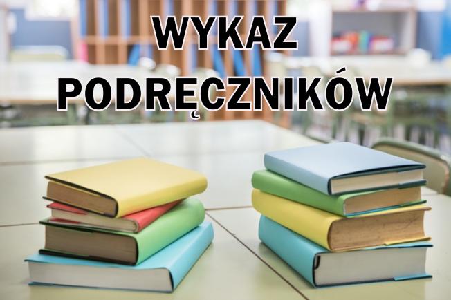 Wykaz podręczników narok szkolny 2020/2021